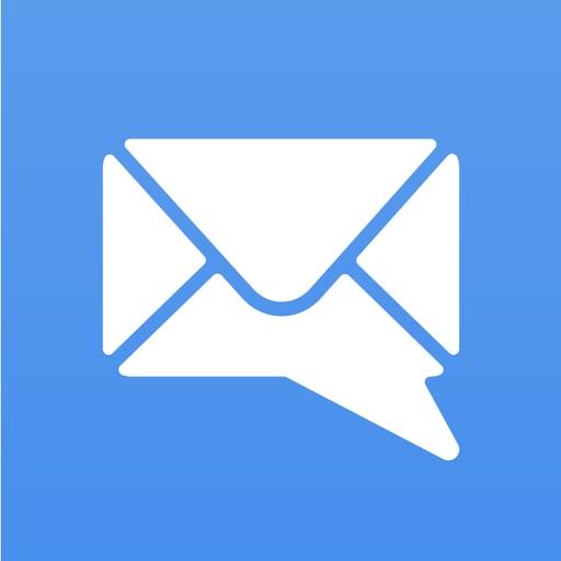 MailTime - チャット形式のEメールアプリ:Yahooメール、Hotmail、Gmail、IMAP対応