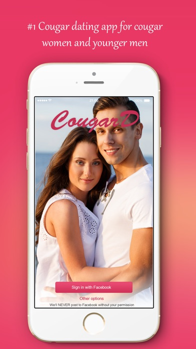 cougar dating app video sex