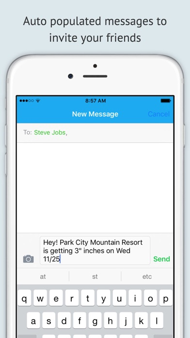 download Powder Fiend - A snow forecast and report tracking app for ski/snowboarding resorts apps 2