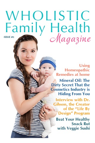 Wholistic Family Health Magazine screenshot 1
