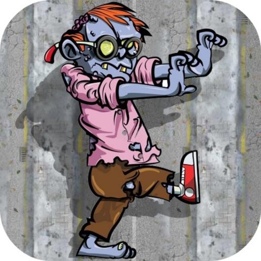 Zombie Getaway - Zombie War/Crazy Running iOS App