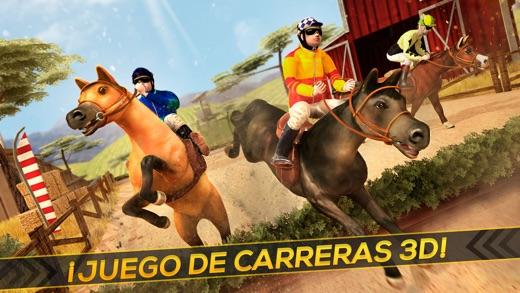 Montar a Caballo 3D  Juegos de Caballos de Carreras para Nios