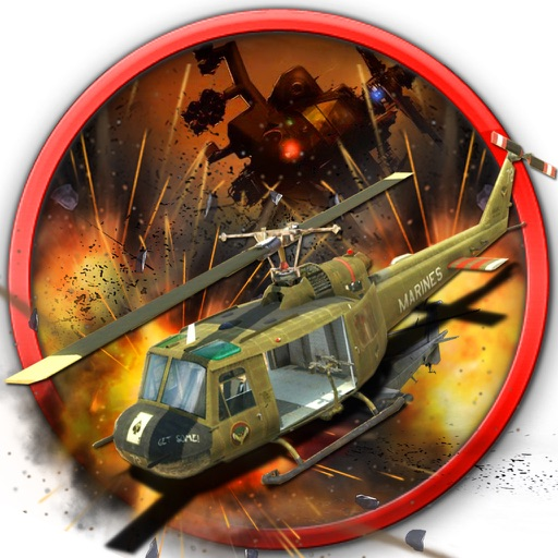 Metal Storm Gunship Helicopters : Ultimate - War iOS App