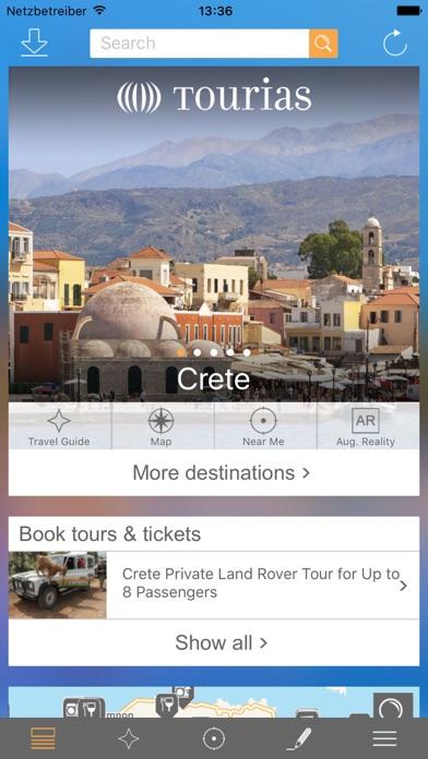 Guide touristique de Crete - TOURIAS Travel Guide (cartes offline gratuites)Capture d'écran de 1