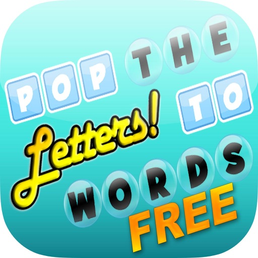 Pop The Letters To Build Words Free iOS App