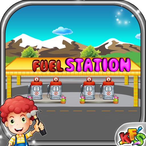 Build a Fuel Station – Crazy building & fix it game for little builders iOS App