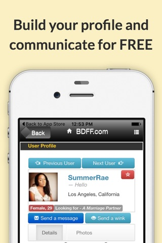 Black Dating For Free screenshot 3
