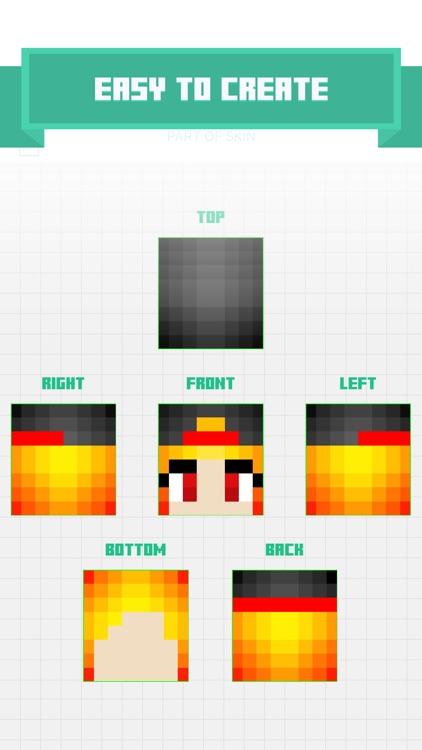 Free Skin Editor & Maker for Minecraft PE ( Pocket Edition