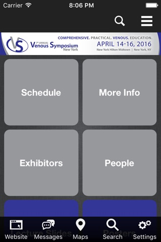 Venous Symposium 2016 screenshot 2