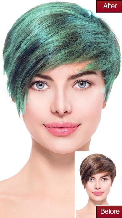 Hair Color Lab - Changer La Couleur Des Cheveux Et De Coiffures