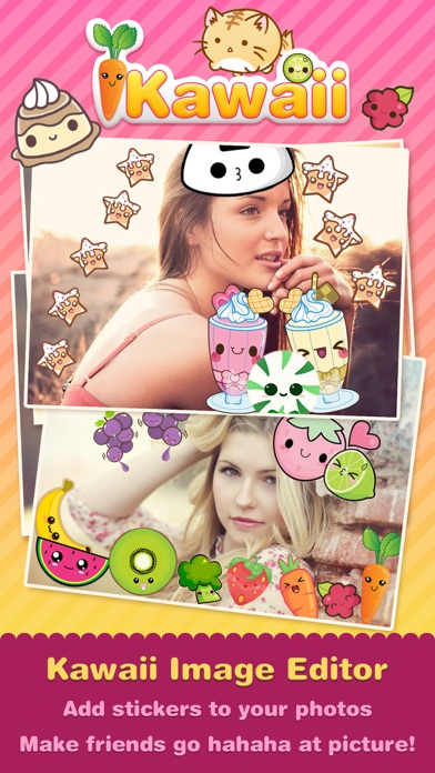 Kawaii Photo Editor Cute Picture Frames 1.7 APK - apktada.com