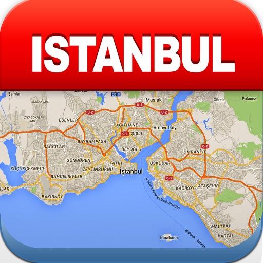 伊斯坦布尔离线地图 – 城市 地铁 机场