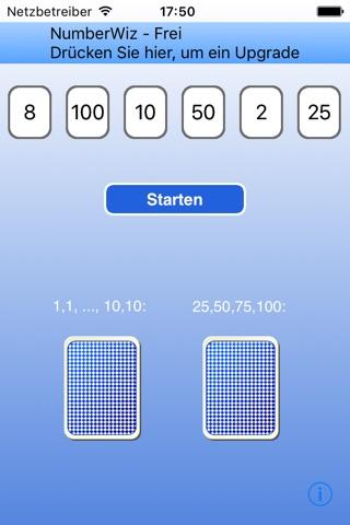 NumberWiz - Free screenshot 1
