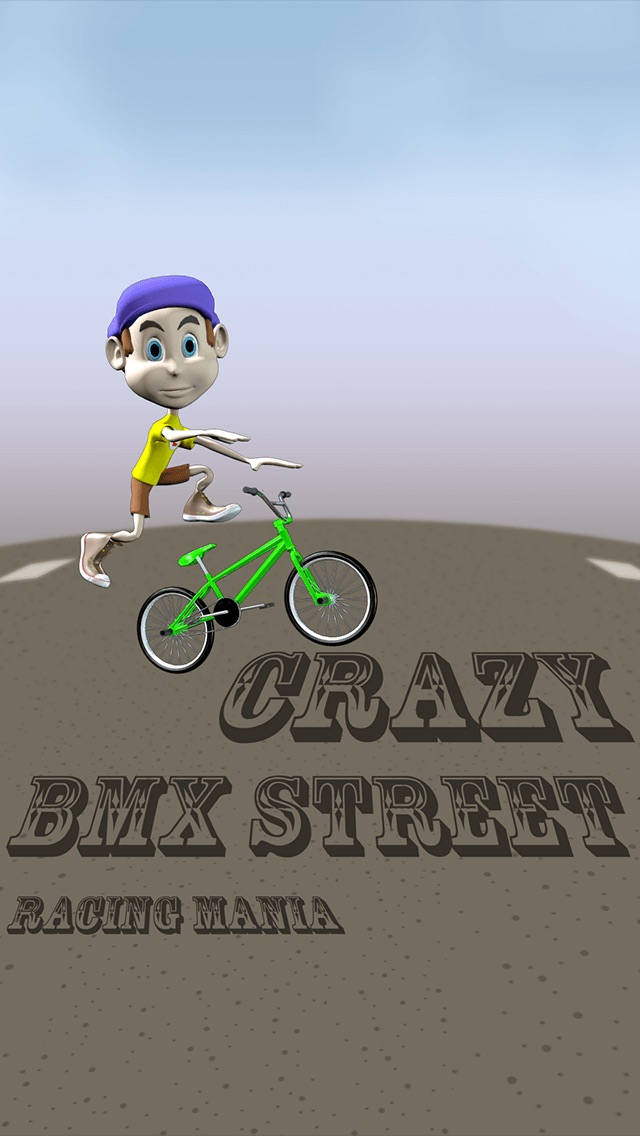 Crazy BMX Street Racing Mania Pro - cool speed street race game