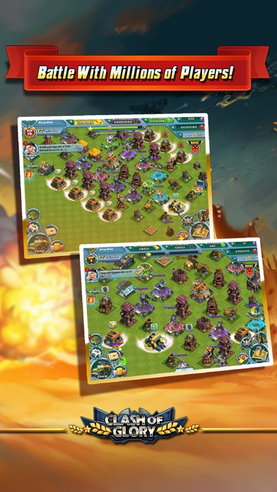 Clash of Glory – MECH War Game Screenshot