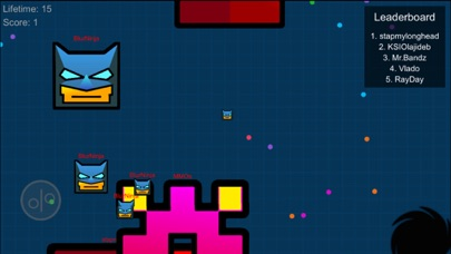 Screenshots of Justice Geometry Squad - Meltdown Heroes Dash for iPhone