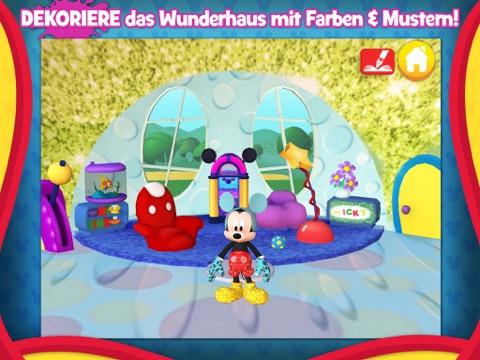 Micky Maus Wunderhaus - Malen und Spielen Screenshot