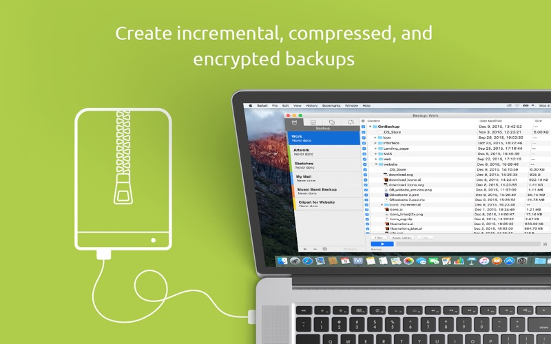 Get Backup 3 Screenshots