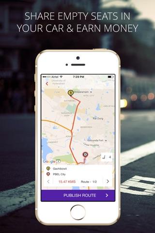 Zify - Instant Carpooling screenshot 3