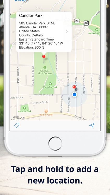 Drop A Pin Map GPS Address Elevation Finder By Zoltan Paczolay - Elevation finder