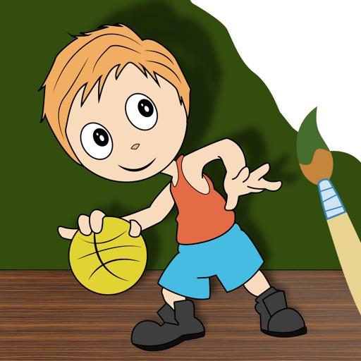 I Paint Drawing Pro - best kids educational art book iOS App