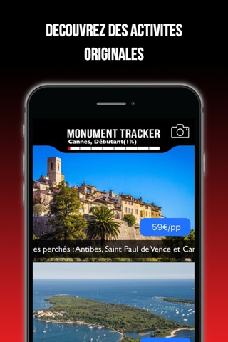 Antibes Monument Tracker screenshot 4