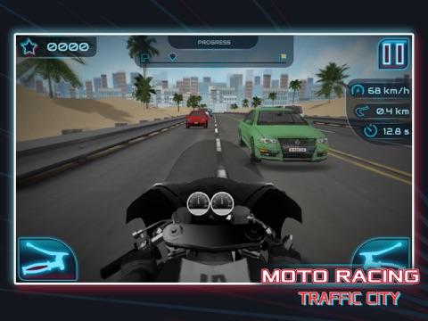 Скачать игру Moto Racing: Traffic City