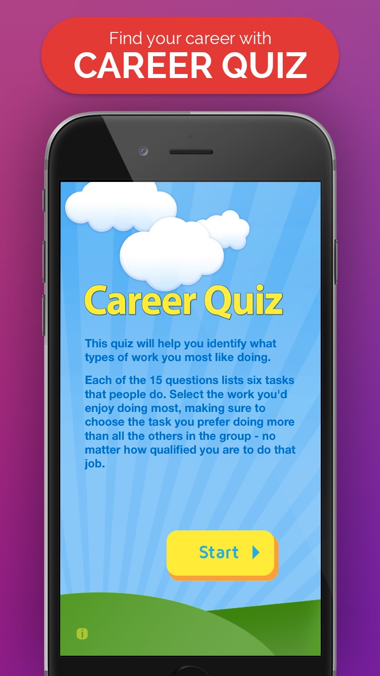 career quiz by department of employment career quiz