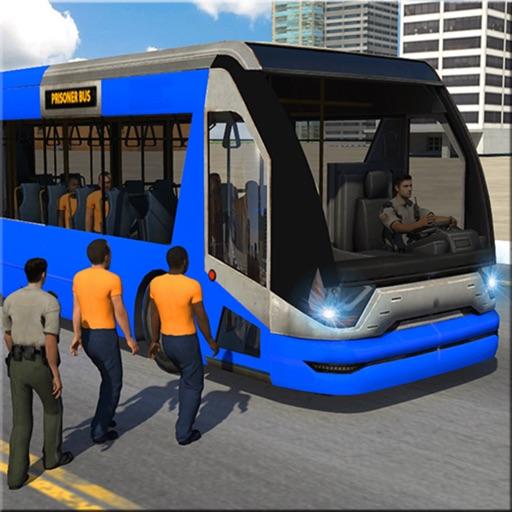 Police Bus Transport Criminals iOS App