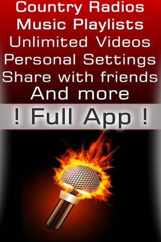 Country music radio fm streaming with live stations playing classic and best country hits playlists screenshot 1