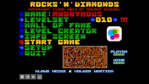 Rocks N Diamonds Screenshot
