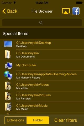 Remote Komondor Lite screenshot 3
