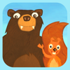 Squirrel & Bär - Einfach Englisch lernen. Ein Abenteuer / Lernspiel mit Eichhörnchen und Bär!