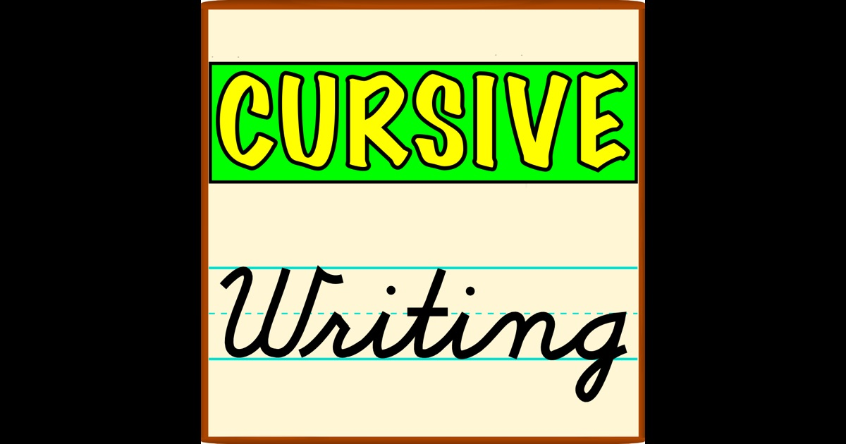 cursive writing app Download cursive writing- and enjoy it on your iphone, ipad, and ipod touch cursive writing- is a great way for the family to practice cursive writing select the options in the settings screen.