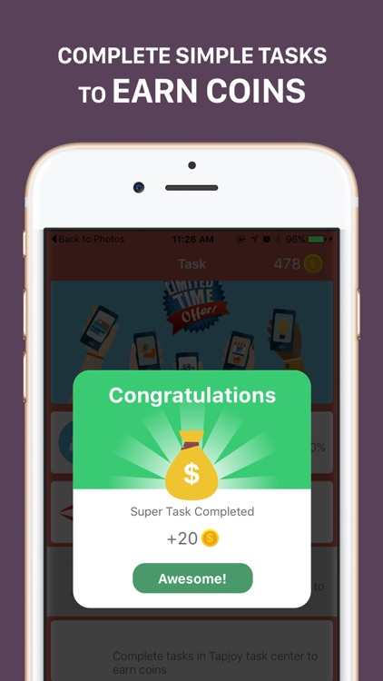 Easy Money -- earn free gift card reward for simple tasks by