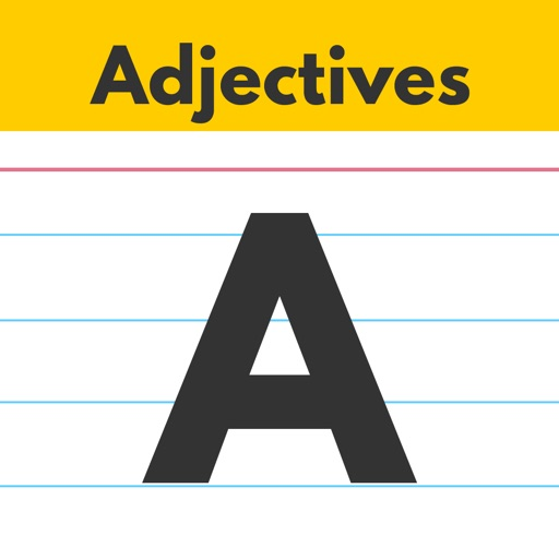 Adjectives by Teach Speech Apps - for speech therapy