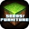 download Seeds & Furniture for Minecraft: MCPedia Gamer Community! Ad-Free