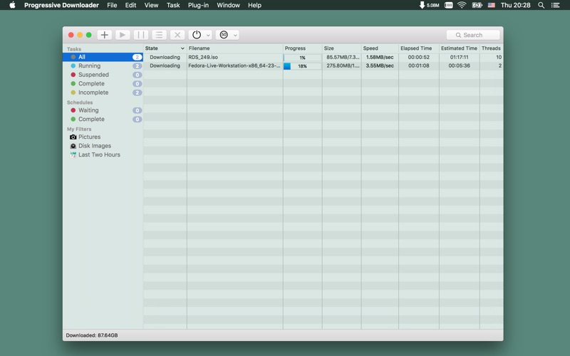 PD Screenshots