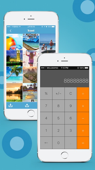 HiCalculator Pro - photo & video protecter Screenshot