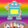 Children's Finger Painting HD - Kindergarten children Doodle and Drawing Robots
