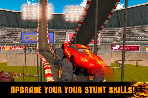 Extreme Monster Truck Stunt Racing 3D screenshot 4