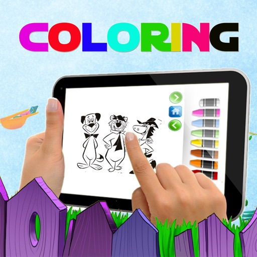 COLORING BOOK GAME QUICK DRAW MCGRAW EDITION iOS App