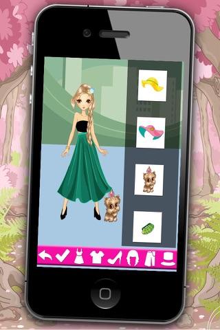 Fashion dress for girls - Games of dressing up fashion girls screenshot 1