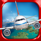 Plane Flying Parking Sim a Real Airplane Driving Test Run Simulator Racing Games icon