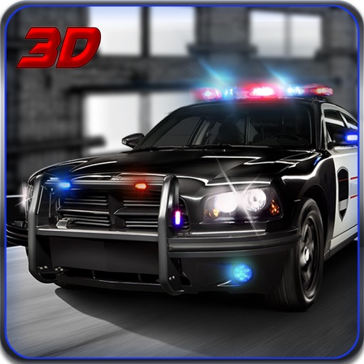 Police Chase City Car 3D Driving simulator iOS App