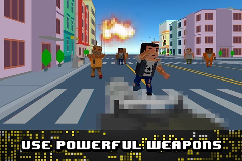 Pixel Wars: City Battlefield 3D screenshot 3