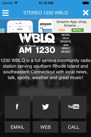 WBLQ AM 1230 screenshot 3