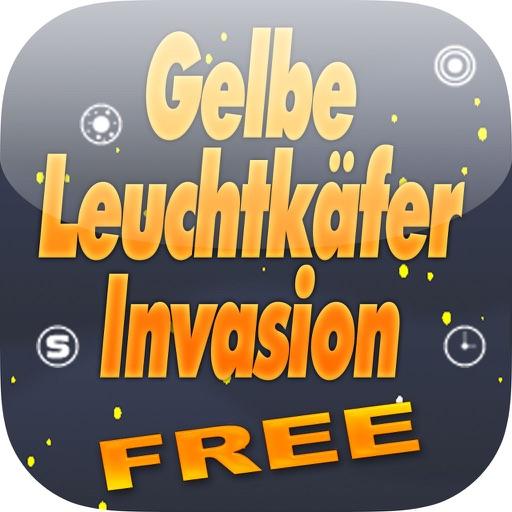 Gelbe Leuchtkäfer Invasion Gratis - Weiche Den Leuchtkäfern Aus iOS App