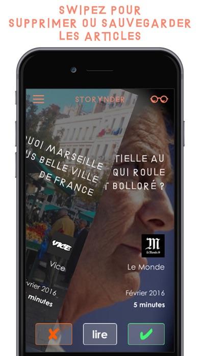 StorynderCapture d'écran de 3