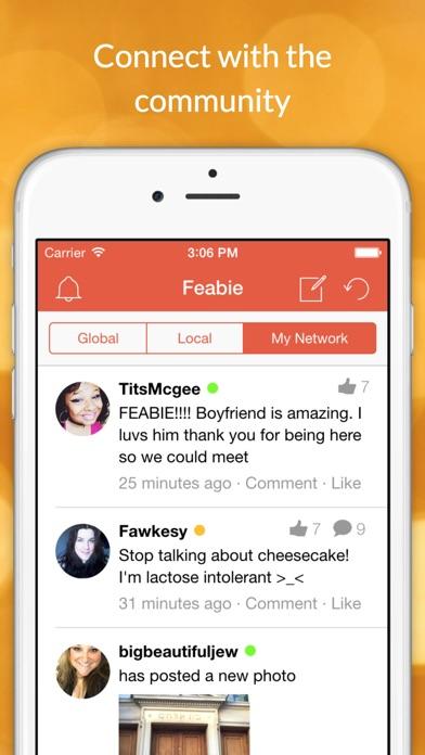 download FEABIE - Feeders, Feedees, BBW, BHM Social Network & Dating apps 3
